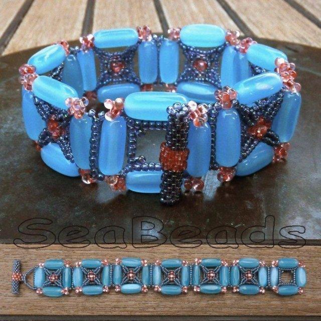 Webbed Bracelet Combi 1 letters
